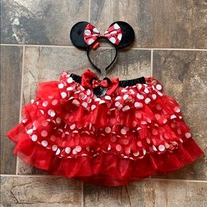 Adult Minnie Mouse Halloween Costume